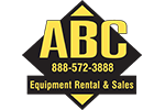 ABC Equipment Rental and Sales Logo